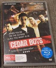 CEDAR BOYS OOP RARE DELETED R4 PAL DVD LES CHANTERY & RACHAEL TAYLOR AUSSIE FILM