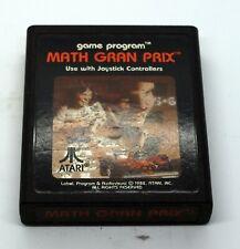 Classic ATARI 2600 GAME! Math Gran Prix! FREE SHIPPING!