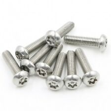 2pcs M12 x 60 mm Security Anti Theft Stainless Steel Dome Button Head Torx Screws Bolt Key Wrench