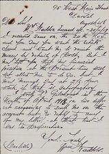 William Haddon. 95 West Main Street, Darvel, Ayrshire 1919 JD815