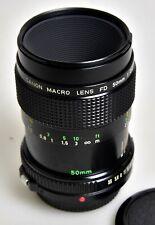 Canon FD Macro Lens 1:3,5/50mm