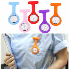 Silicone Nurse Watch Brooch Tunic Fob Watch With Free Battery Doctor Medical