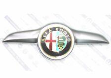 ALFA ROMEO GT Blackline Special Edition GENUINE Front Bonnet Emblem Grille Badge