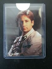 1995 X Files David Duchovny autographed insert card