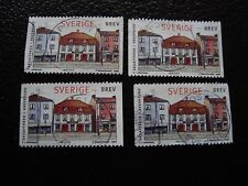 SUEDE - timbre yvert et tellier n° 2022 x4 obl (A29) stamp sweden (Z)