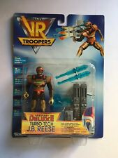 VR TROOPERS SUPER DELUXE TURBO-TECH J.B. REESE Saban Kenner MOSC