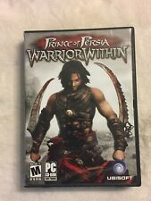 Prince of Persia: Warrior Within 3 Discs Manual PC Game Complete