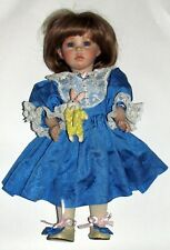 "Dianna Effner Doll  ""Hilary"" All porcelain"