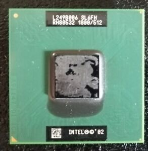 Mobile Intel Pentium 4 Processor - M 1.80 GHz, 512K Cache, 400 MHz FSB