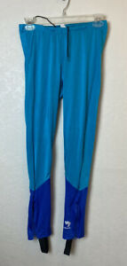 Bellwether Womens Stretch Cycling Pants Tights Leggings With Stirrups Size LARGE