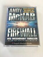 Andy McNab - Firewall - Read By Colin Buchanan   Music Cassette
