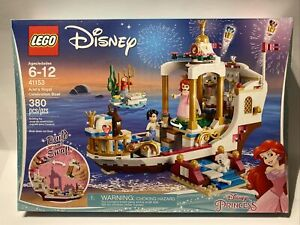 LEGO 41153 DISNEY LITTLE MERMAID ARIEL'S ROYAL CELEBRATION Boat RETIRED SEALED