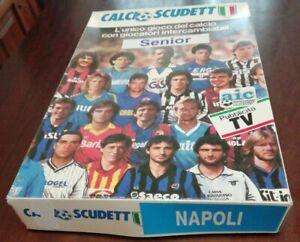 MARADONA NAPOLI scudetto 1989-1990 gioco in scatola figure RARISSIMO NUOVO Rare