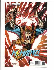 MS. MARVEL # 20 (JIM LEE X-MEN CARD VARIANT,  SEPT 2017) NM NEW