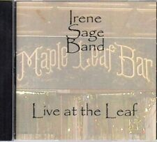 Irene Sage Band Live At The Maple Leaf Bar New Orleans CD