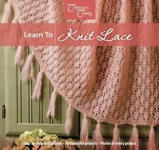 Learn to Knit Lace (Workshop Series)-ExLibrary
