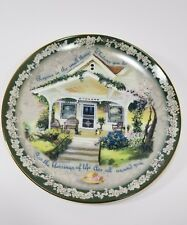 """Glenna Kurz Bradex Welcome Home """"Rejoice in The Small Things"""" Plate #1790A"""