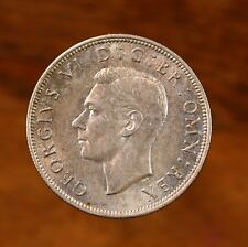 Raw 1944 Great Britain 1/2 Crown