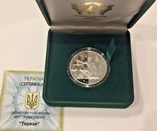 2008 Ukraine 5 Hryvnias Silver Proof Coin Signs of the Zodiac Libra