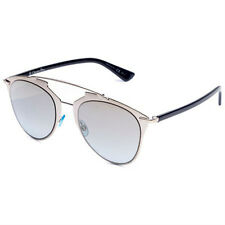 CHRISTIAN DIOR REFLECTED EEI0H LIGHT GOLD, SILVER AND BLACK AVIATOR SUNGLASSES