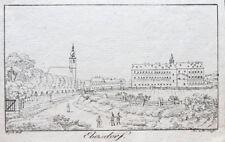 c1800 Wien Kaiserebersdorf Radierung Schaffer