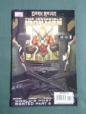 DARK REIGN THE INVINCIBLE IRON MAN  #13  MARVEL COMIC JULY 2009