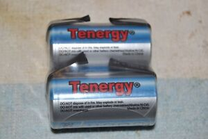 TENERGY NEW NIMH SUB-C RECHARGEABLE BATTERY/CELL 3800 mah 1.2 volt PAIR