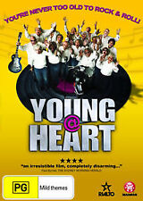 Young @ Heart music by the Clash Ramones Sonic Youth Jimi Hendrix (DVD, 2009)