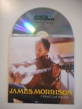 JAMES MORRISON : I WON'T LET YOU GO [ CD SINGLE ]