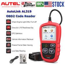 Car Fault Code Reader Diagnostic Scan Engine Check Autel AL319 OBD2 EOBD CAN BUS