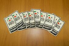 10 TOPPA PATCH LEGA CALCIO ORIGINALE LEGA PRO INTEGRITY NO LEXTRA NUOVA 2015-16