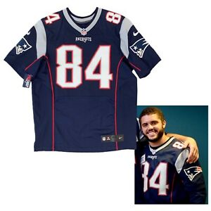 Austin Carr New England Patriots Event Worn NFL Nike Elite Jersey Like Game Worn