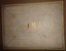 Alessandro Mantovani - ROMA photo album, 1881 : rare decorations & ornamentation