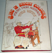 ♥ SING IN BRIGHT COLOURS ~ POETRY FROM AUSTRALIA ~ A.R. Mappin ~ HARDCOVER....♥