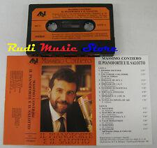 MC MASSIMO CONTIERO Il pianoforte salotto 1 stampa italy AN no cd lp dvd vhs