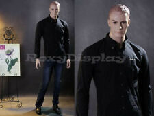 Male Fiberglass Molded Hair Manequn Manikin Mannequin Display Dress Form #Wen5