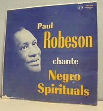 """33T PAUL ROBESON LP 12"""" Vinyl NEGRO SPIRITUALS F Reduit"""