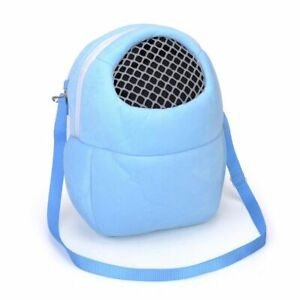 Small Pet Carrier Rabbit Cage Hamster Chinchilla Travel Carry Pouch Bag Mouse