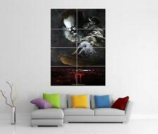IT MOVIE 2017 STEPHEN KING PENNYWISE XL GIANT WALL ART PRINT PIC PHOTO POSTER