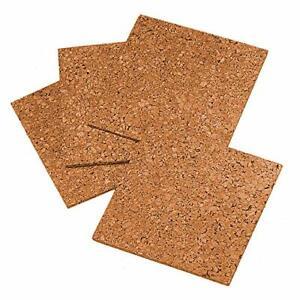 "Quartet Cork Tiles Cork Board 12"" x 12"" Corkboard Wall Bulletin Boards Natura..."