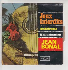 "Jean BONAL Disque 45T 7"" EP JEUX INTERDITS - ANDALOUSIA Guitare VEGA 5790 RARE"