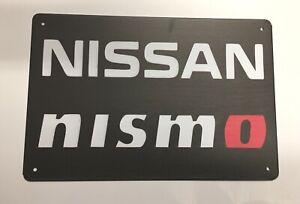 Nissan Nismo Style 1 Metal Tin Signs - Car GTS Skyline Racing Workshop Man Cave