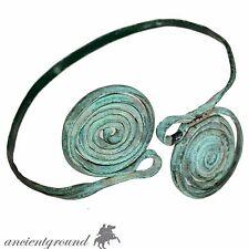 VERY RARE BRONZE AGE ANCIENT GREEK SPIRAL BRONZE BRACELET 2500-1500 BC
