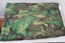 Military Issued Woodland Poncho Liner