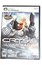 Crysis Warhead PC Game (with Crysis wars)  (PC, 2008) FREE SHIPPING