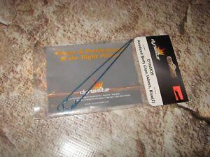 RC Dynamite Blue 120 mm Body Clips (2) DYN5535 5535