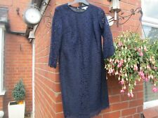 Boden Dress 10R Jennifer Navy Lace Dress  RRP £179-