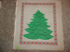 Handpainted Needlepoint Canvas Large Christmas Tree 12M NEW