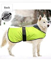 Bseen Large Dog Coat Sweater Size XL Neon yellow