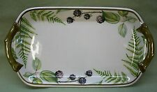 "Villeroy & Boch Vilbofour Forsa Ferns Pickle Relish Dish Tray Plate 9"""